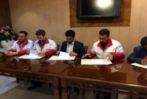 امضای تفاهم نامه بین سازمان داوطلبان و اتحادیه کشوری