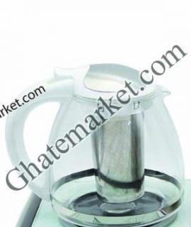 قوری چای ساز رنگ سفید